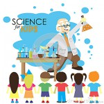 science-kids-cartoon-scientist-shows-to-kids-chemistry-experiment-laboratory-vector-illustration-58522150